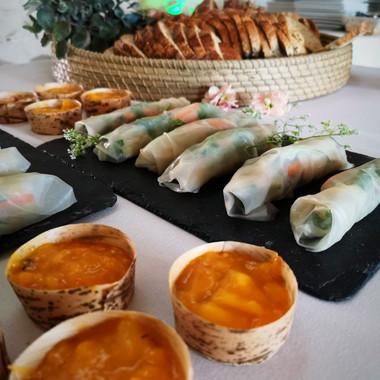 Déjeuners sains et locaux