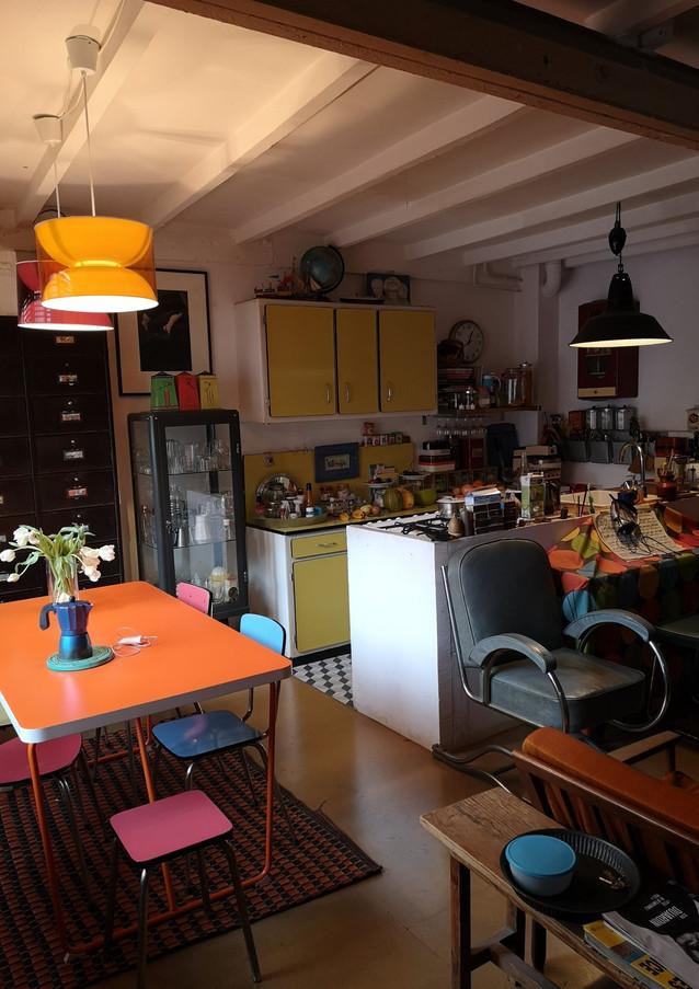 Leur maison retro / Their retro-style home