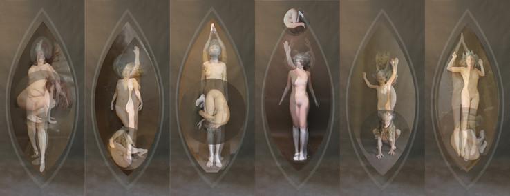 Femmes Cosmiques/Cosmic Ladies  Gemma Ferron Expo Elle sur Elle