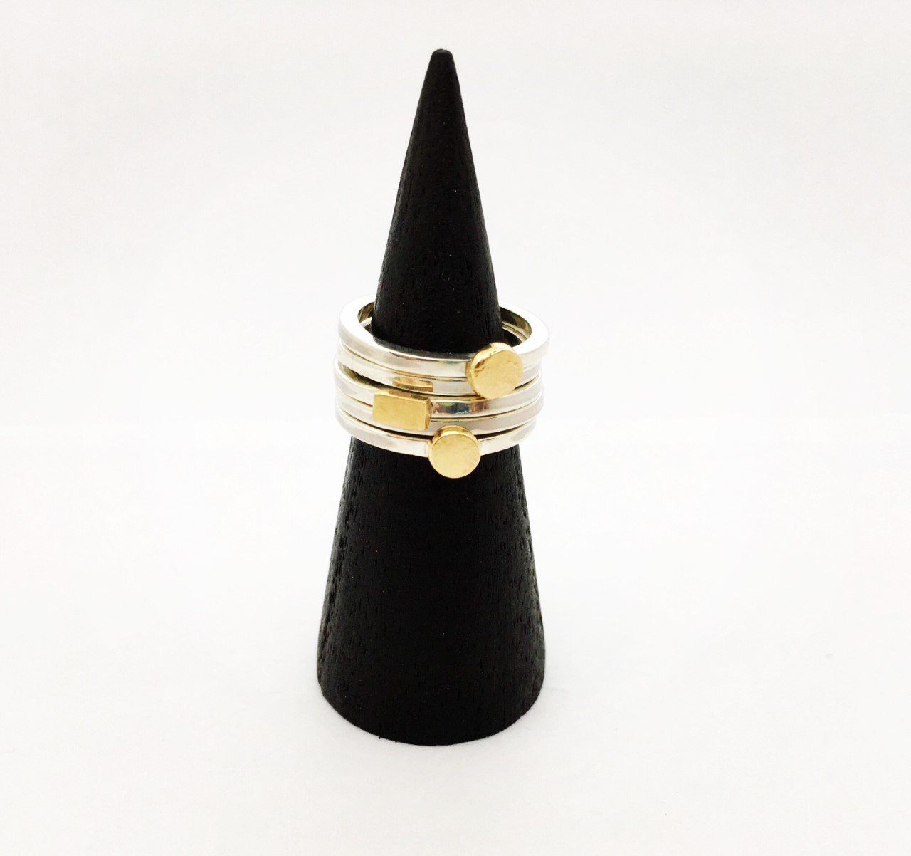 Ring 'Five' by Oh my Gold!