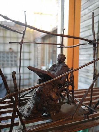 Sculpture Jean Murgue (Cousin d'Arnaud/Arnaud's cousin)