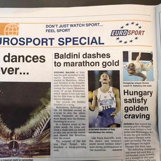 """Entre 4 et 6 pages de contenu Eurosport chaque jour titré """"Eurosport Special"""""""