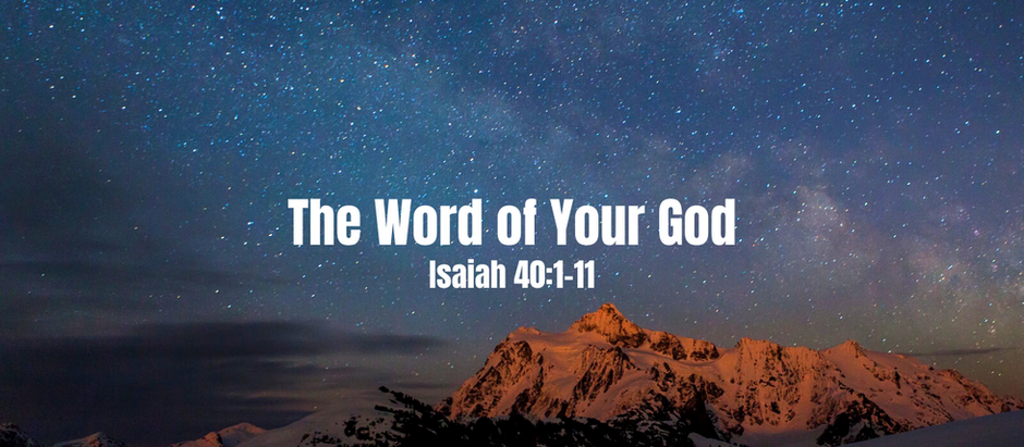 At Home Worship: December 6, 2020