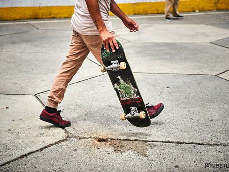 """Primera edición de """"Volando la cana; skateboarding en el Reclusorio Norte"""""""