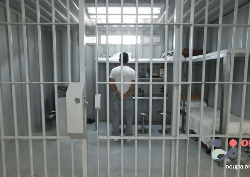 Interno formado dentro de su celda