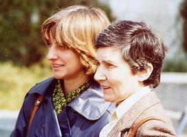 Gabrielle Bellocq et sa belle-fille Mari
