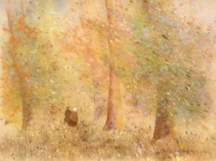 1996 Les deux enfants dans la clairière