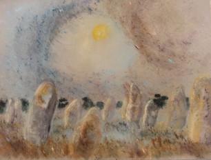 1997 Menhirs au clair de lune