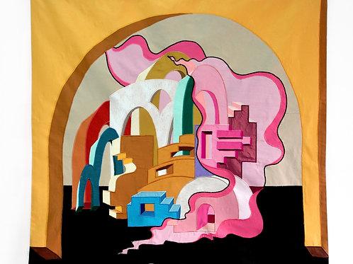 """The Big Picture"" (2020) // Original Textile Artwork"