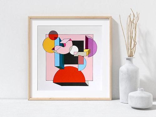 'Perspectives' 10x10 Art Print