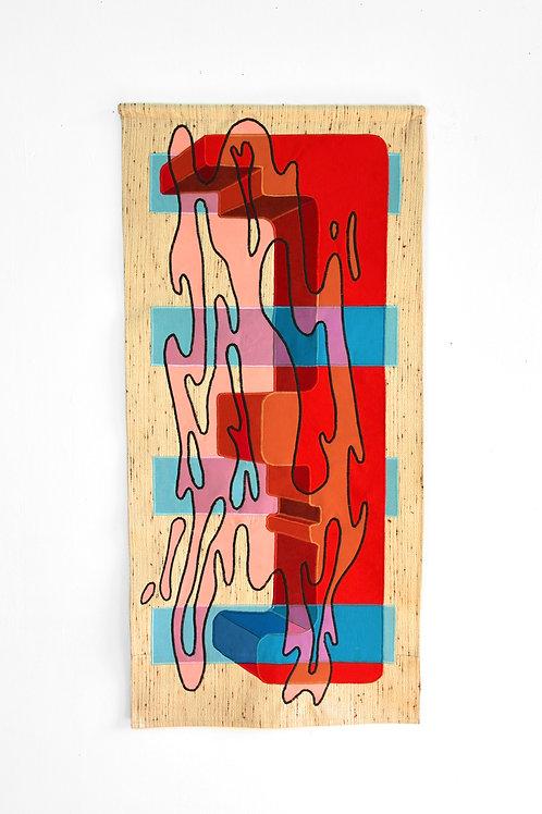 Dimension I (2020) // Original Textile Artwork
