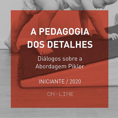 A Pedagogia dos Detalhes - Diálogos sobre a Abordagem Pikler - ON-LINE