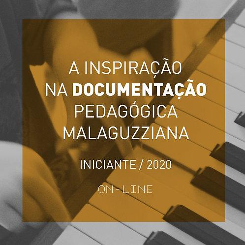 A inspiração na documentação pedagógica Malaguzziana - iniciante ON-LINE