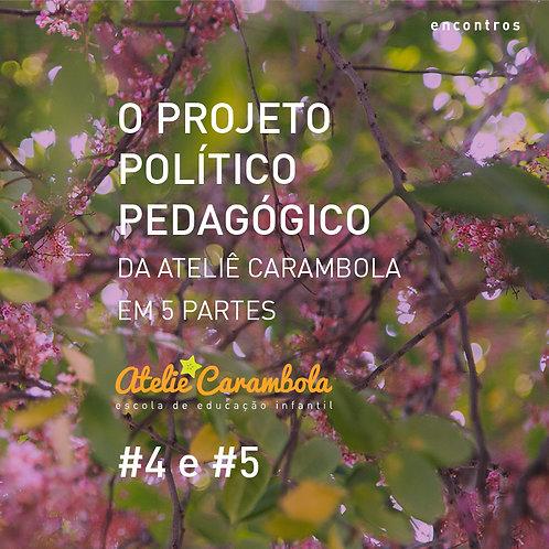 encontros: O Projeto Político Pedagógico da Ateliê Carambola #4 E #5