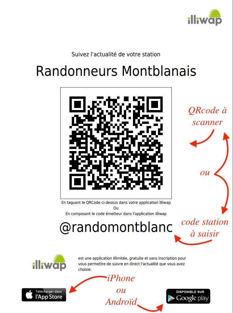 Illiwap Randonneurs Montblanais