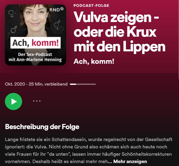 Podcast - Ach, komm!