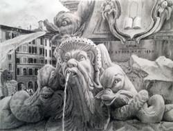 Roman Fountain