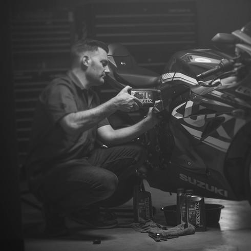 ec star suzuki motorcycle oil photo B75P