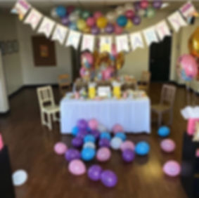 dance birthday party