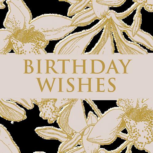 £25 Gift Voucher - BIRTHDAY WISHES