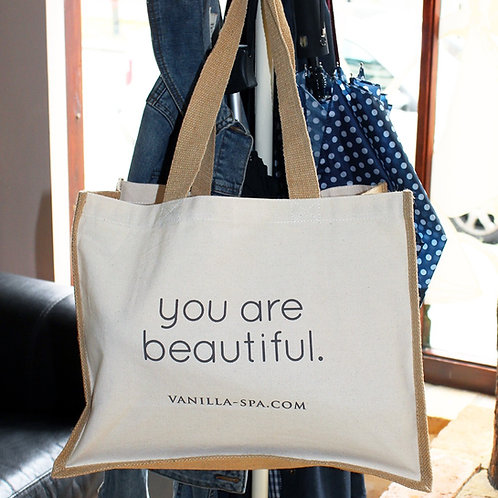 'You are Beautiful.' Bag for Life.