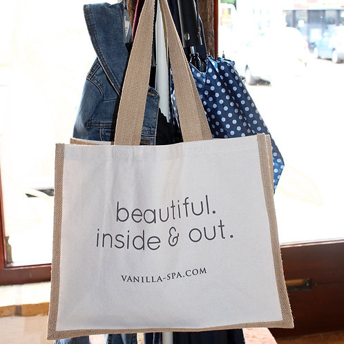 'Beautiful. Inside and out.' Bag for Life.