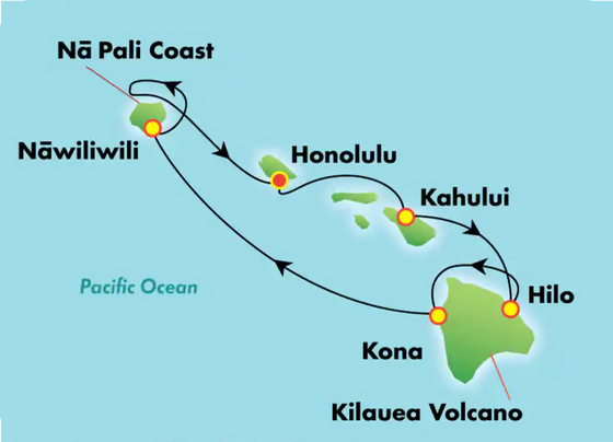 Just Booked: island hopping Hawaii!