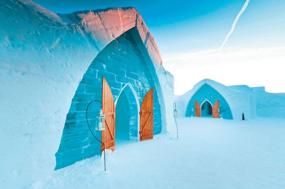 Want to stay in your very own ice castle?