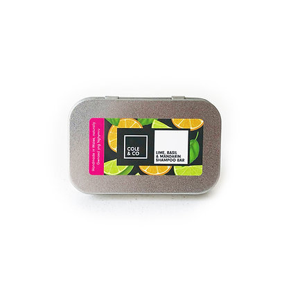 Lime, Basil & Mandarin Travel Shampoo Bar