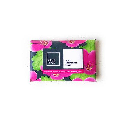 5 Rose Geranium Mini Soaps