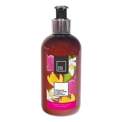 Geranium, Ylang Ylang & Neroli Hand Wash