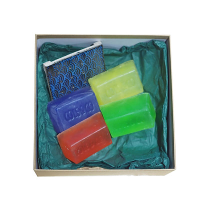 Unwrapped Soap Gift Set