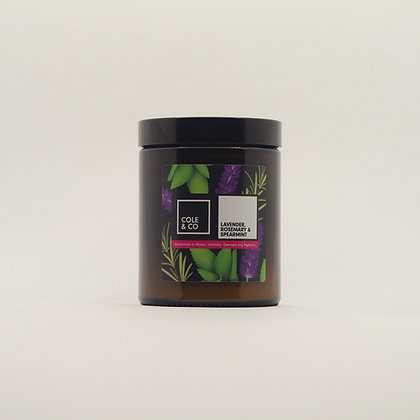 Lavender, Rosemary & Spearmint Candle in a Jar