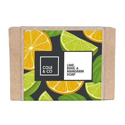 Lime, Mandarin & Basil Soap