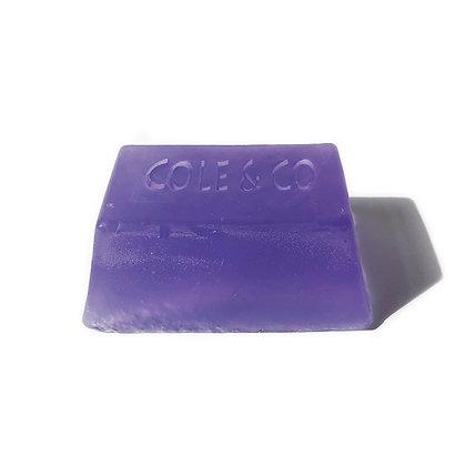 Lavender Unwrapped Log