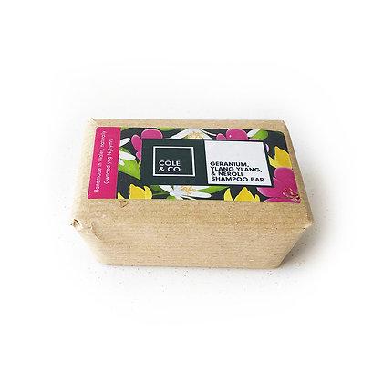 Geranium, Neroli & Ylang Ylang Shampoo Bar