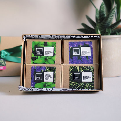 The Herbal Soap Collection