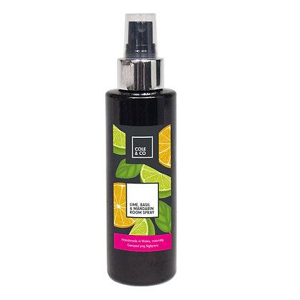 Lime, Mandarin & Basil Room Spray