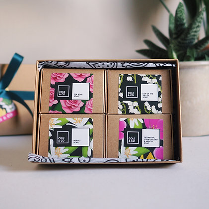The Floral Soap Collection