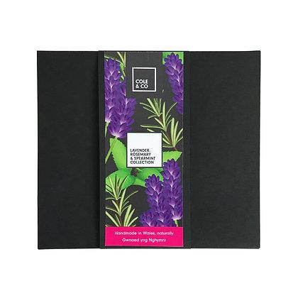 Lavender,Rosemary & Spearmint Bottle Gift Set