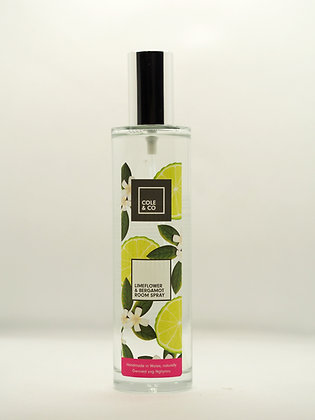Lime Flower & Bergamot Room Spray