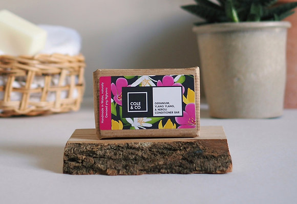 Geranium, Neroli & Ylang Ylang Conditioner Bar