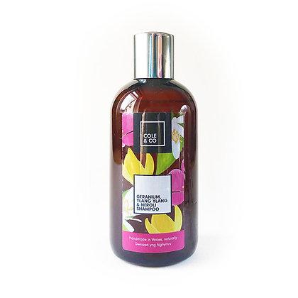 Geranium, Neroli & Ylang Ylang Shampoo