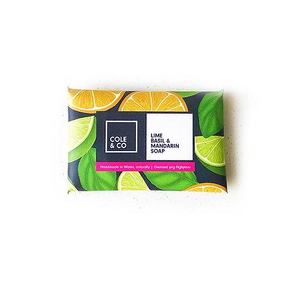 5 Lime, Basil & Mandarin Mini Soaps