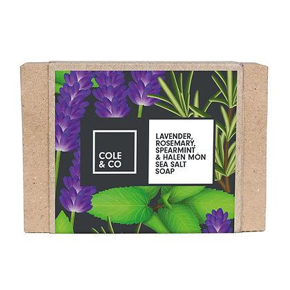 Lavender, Rosemary, Spearmint & Halen Môn Soap