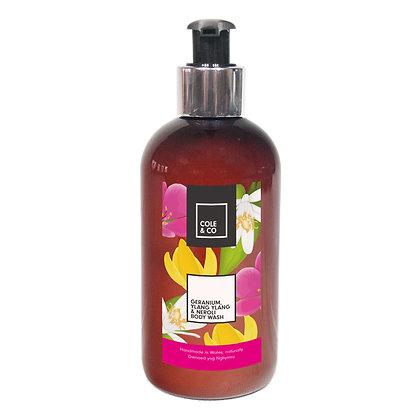 Geranium, Ylang Ylang & Neroli Body Wash