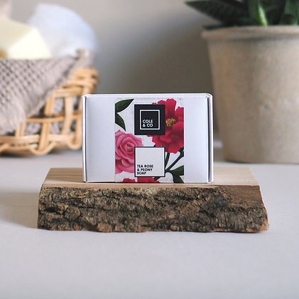 Tea Rose & Peony Soap