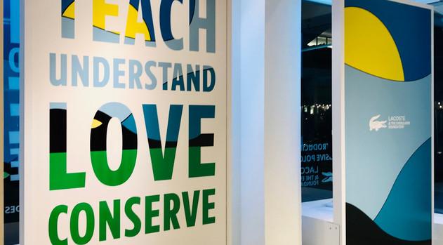 TEACH – UNDERSTAND – LOVE – CONSERVE