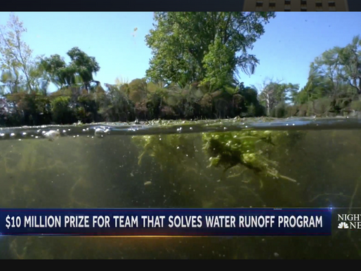 International competition with $10m prize hopes to solve water runoff problem
