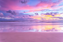 A cotton candy sunrise at the beach.jpg
